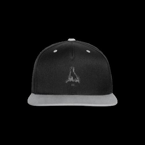 Malinois black&white  - Kontrast Snapback Cap