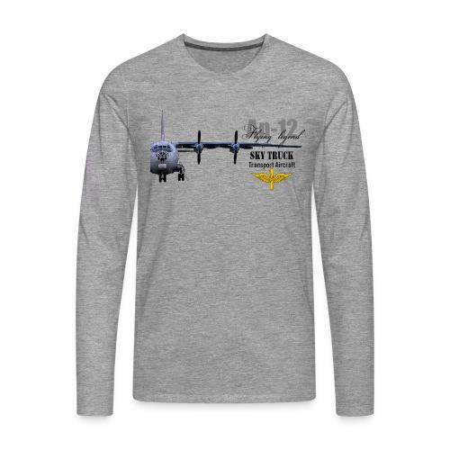 Antonov 12 - Männer Premium Langarmshirt