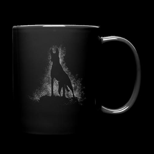 Dog Silhouette - Tasse einfarbig
