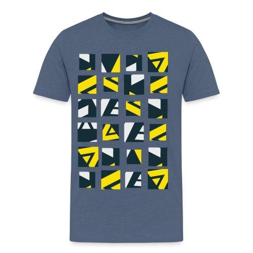 Geometric pattern Men's Premium T-Shirt - Men's Premium T-Shirt