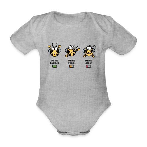 Akku - Baby Bio-Kurzarm-Body