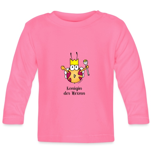 Königin der Herzen - Baby Langarmshirt