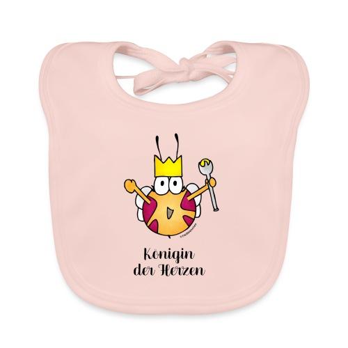 Königin der Herzen - Baby Bio-Lätzchen