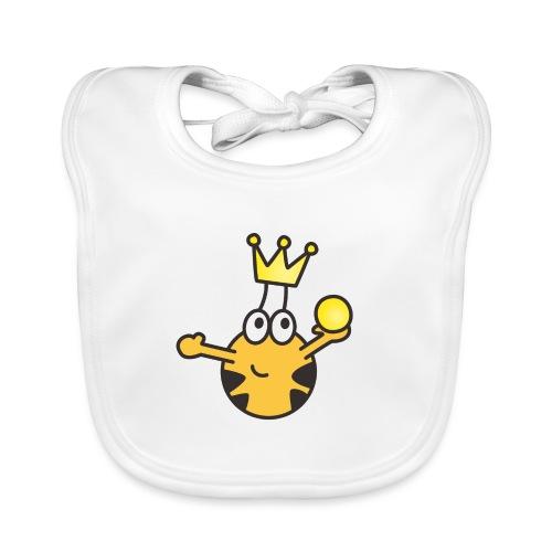 Verzauberter Prinz - Baby Bio-Lätzchen