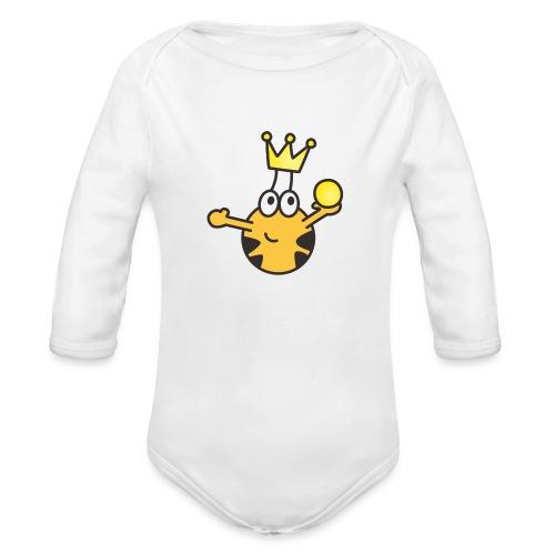 Verzauberter Prinz - Baby Bio-Langarm-Body