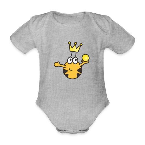 Verzauberter Prinz - Baby Bio-Kurzarm-Body