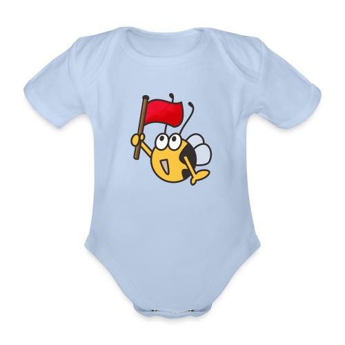Fahnenträger - Baby Bio-Kurzarm-Body