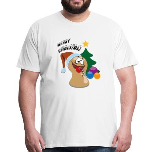 Ugly Christmas Figur Kegel Baum Weihnacht 2018 - Männer Premium T-Shirt