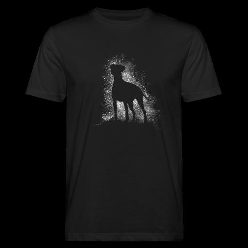 Dobi Silhouette - Männer Bio-T-Shirt