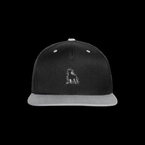 Dobi Silhouette - Kontrast Snapback Cap