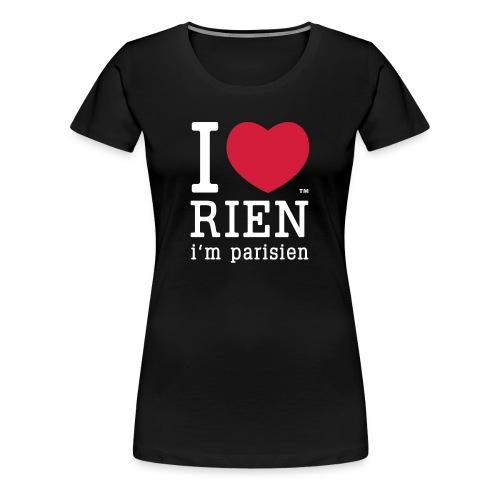tshirt femme noir - T-shirt Premium Femme