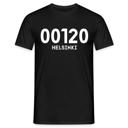 00120 HELSINKI - Miesten t-paita
