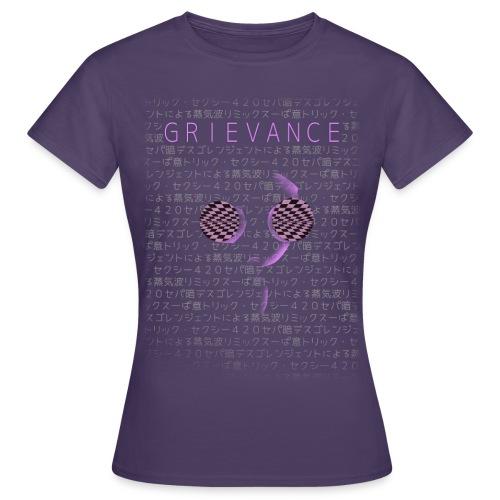 GRIEVANCE Vape Shirt (Frauen) - Frauen T-Shirt