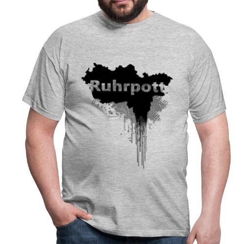 Ruhrpott Landkarte - Männer T-Shirt