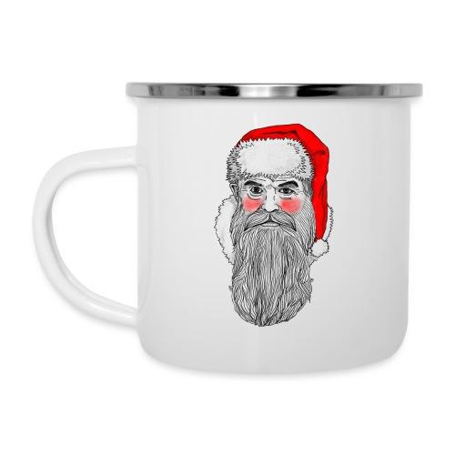 Weihnachtstasse - Emaille-Tasse