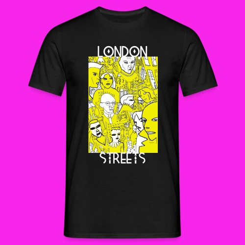 London Streets Luscious Gold - Men's T-Shirt