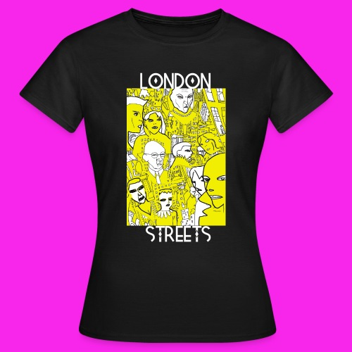 London Streets Luscious Gold - Women's T-Shirt