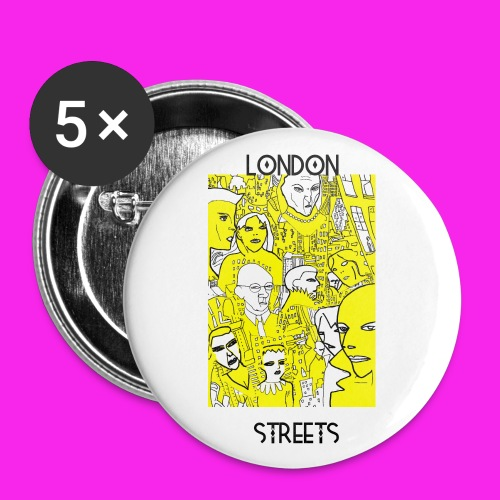 London Streets Luscious Gold - Buttons small 25 mm