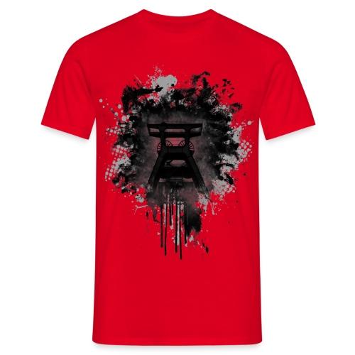 dirty Förderturm im Pott - Männer T-Shirt