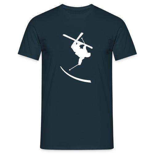 T-shirt herr - Härlig t-shirt med skidåkar-tryck.