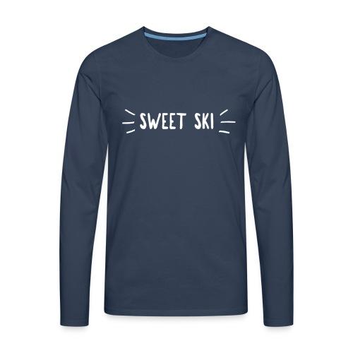 Sweet Ski Shining Langarm Shirt - Männer Premium Langarmshirt