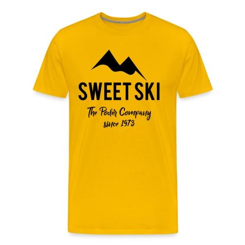 Sweet Ski Mauntenz 1973 - black - Männer Premium T-Shirt