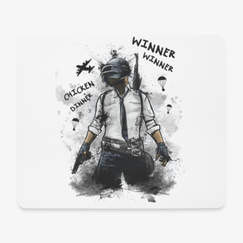 OutKasts.EU PUBG Chicken Dinner Mouse Pad (horizontal) - Mouse Pad (horizontal)