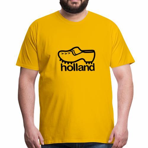 Klomp-holland - Mannen Premium T-shirt