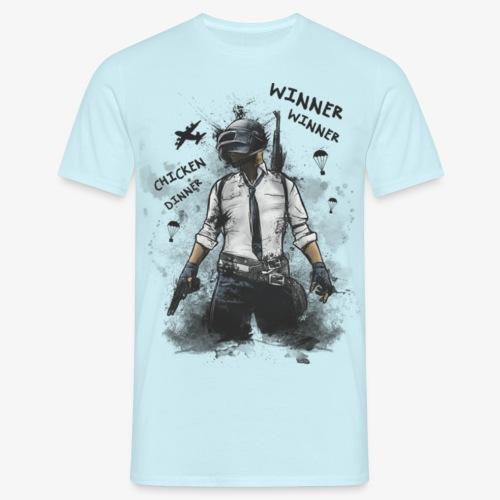 OutKasts.EU PUBG Chicken Dinner Men's T-Shirt - Men's T-Shirt