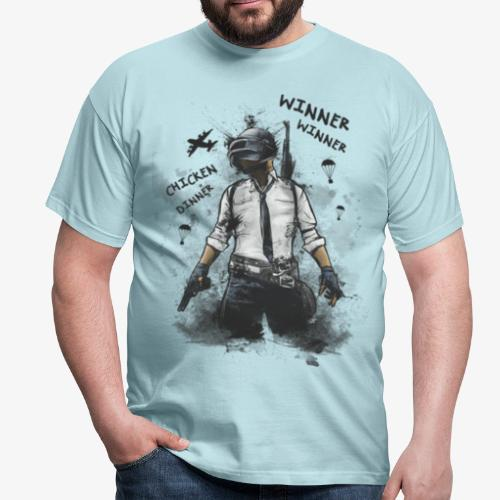 OutKasts.EU PUBG Chicken Dinner Men's T-Shirt - Men's T-Shirt