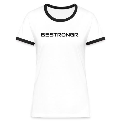 Clean & Jerk - Kontrast-T-shirt dam