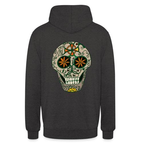 Samhain Skull - Backprint! - Unisex Hoodie