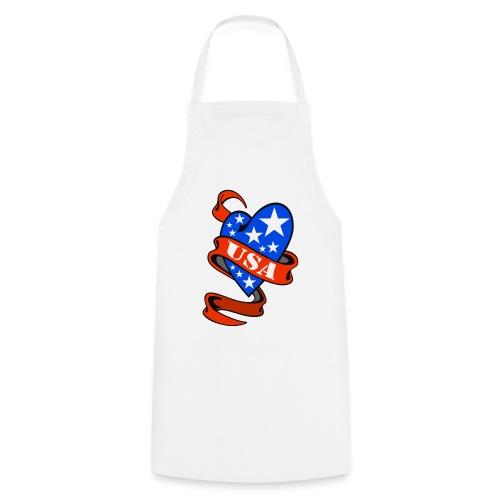 USA Heart - Tablier de cuisine