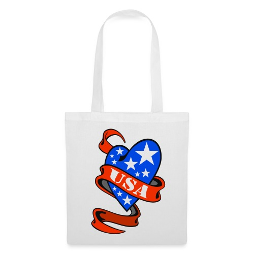 USA Heart - Tote Bag