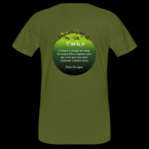 Citation Pablo Servigne - T-shirt bio Homme