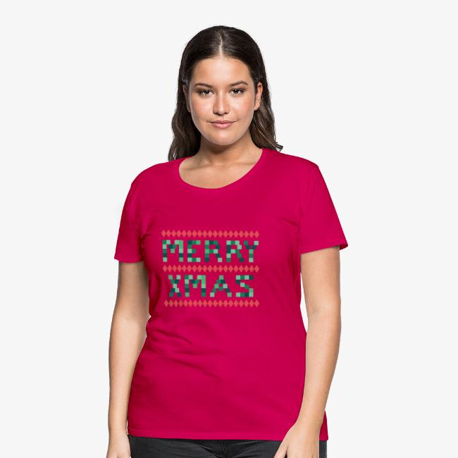 Merry X-Mas Ugly 1 T-Shirts
