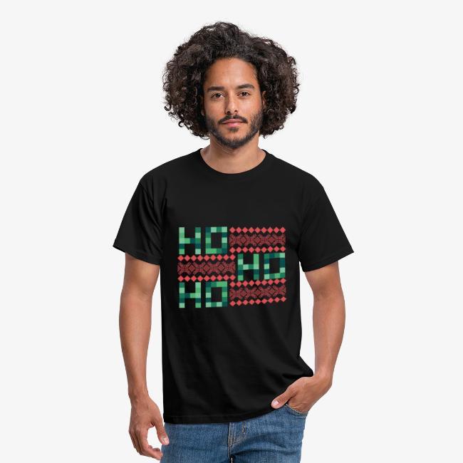 Ho, Ho, Ho / Ugly X-Mas 2 T-Shirts