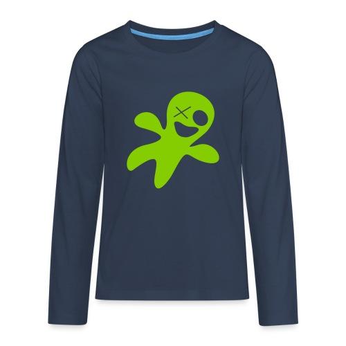 GHOST FRED - Teenager Premium Langarmshirt