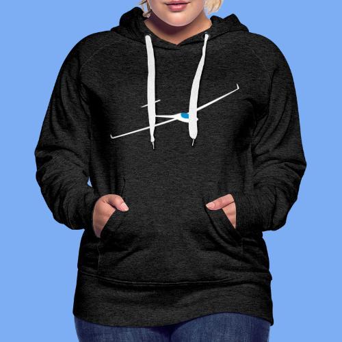 Segelflugzeug Pilot Segelflieger Geschenk GP 14 Velo T-Shirt - Women's Premium Hoodie