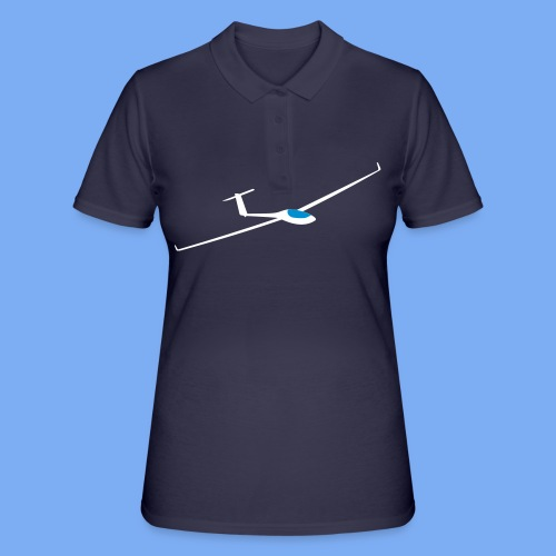 Segelflugzeug Pilot Segelflieger Geschenk GP 14 Velo T-Shirt - Women's Polo Shirt