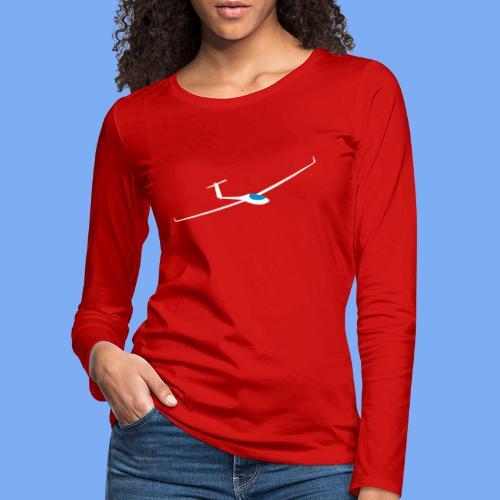 Segelflugzeug Pilot Segelflieger Geschenk GP 14 Velo T-Shirt - Women's Premium Longsleeve Shirt