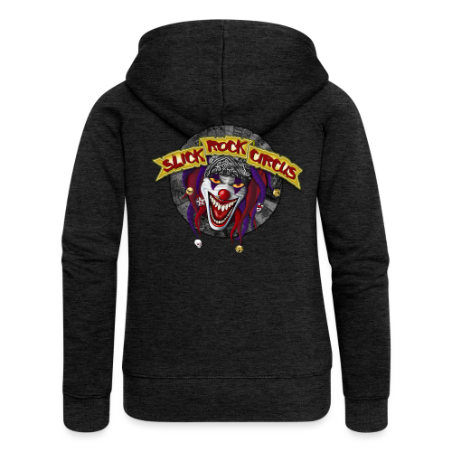 Slick Rock Circus - Evil Clown Back, Woman Hoodie Jacket - Frauen Premium Kapuzenjacke