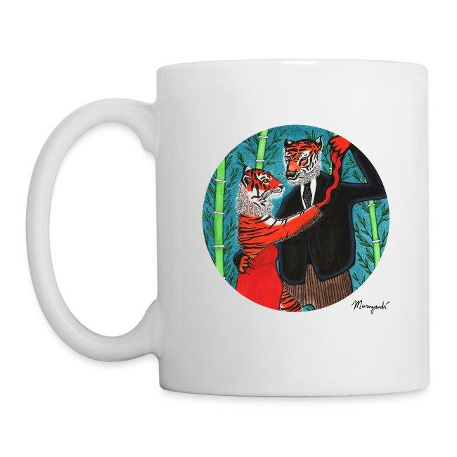Salsa Dancing Tigers - Mug