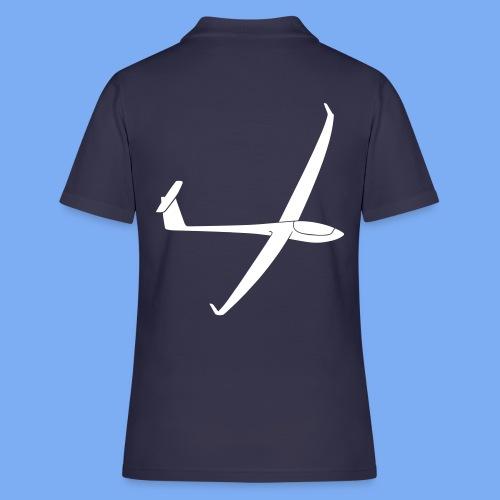 Segelflugzeug Pilot Segelflieger Geschenk Antares 18 T-Shirt - Women's Polo Shirt
