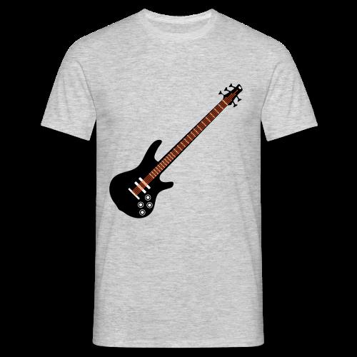 5 Saiter Bass Mehrfarbig - Männer T-Shirt