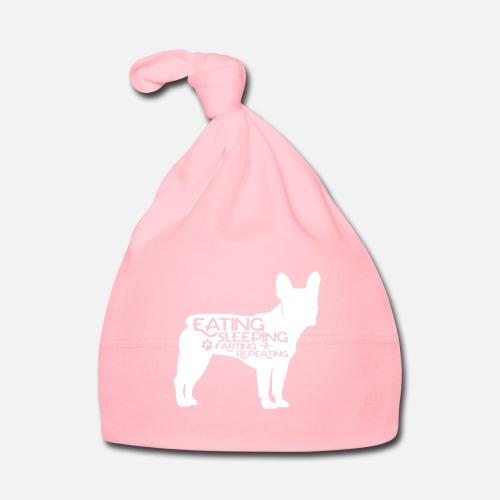 French Bulldog - Eat, Sleep, Fart & Repeat - Baby Mütze