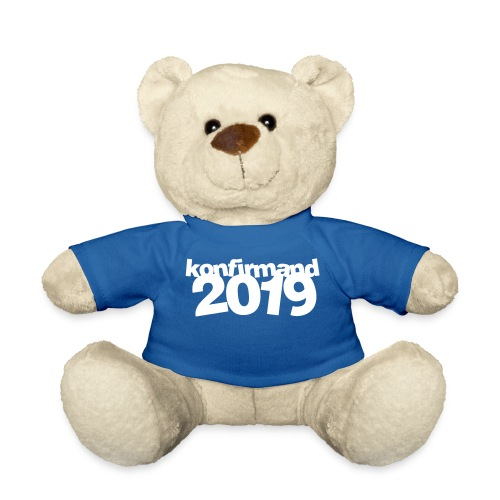 Konfirmandbamsen 2019, super gaveide - Teddybjørn