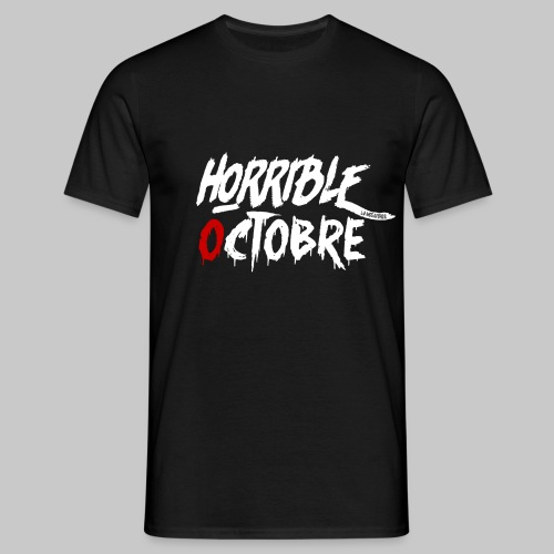 T-SHIRT HORRIBLE OCTOBRE - T-shirt Homme