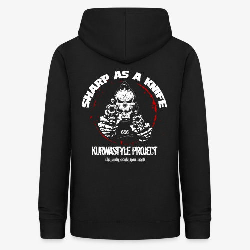 Kurwastyle Project - Sharp As A Knife Women's Hoodie - Women's Hoodie