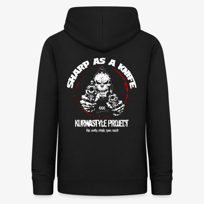 Kurwastyle Project - Sharp As A Knife Women's Hoodie